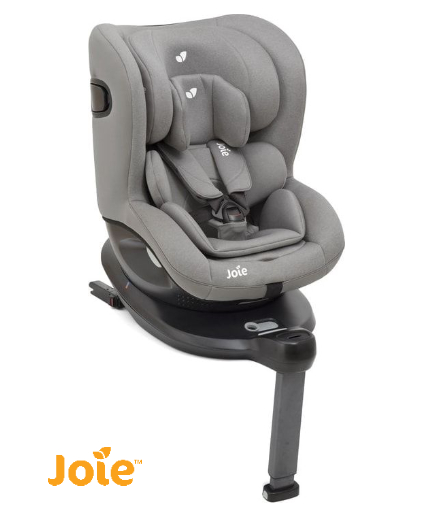 Joie i-spin 360 gray flannel fun baby